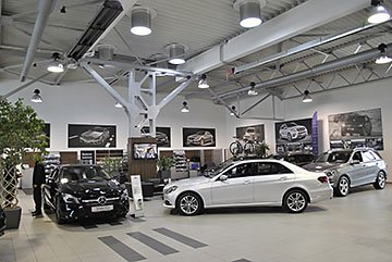 M74 - Showroom Mercedes Benz Händler